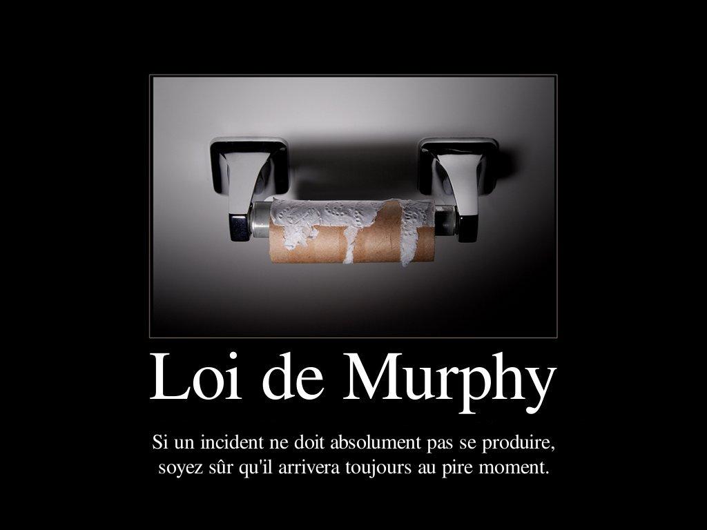 Loi de Murphy : quand ça tourne mal au travail