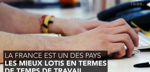 Temps de travail par semaine : les Français parmi les mieux lotis